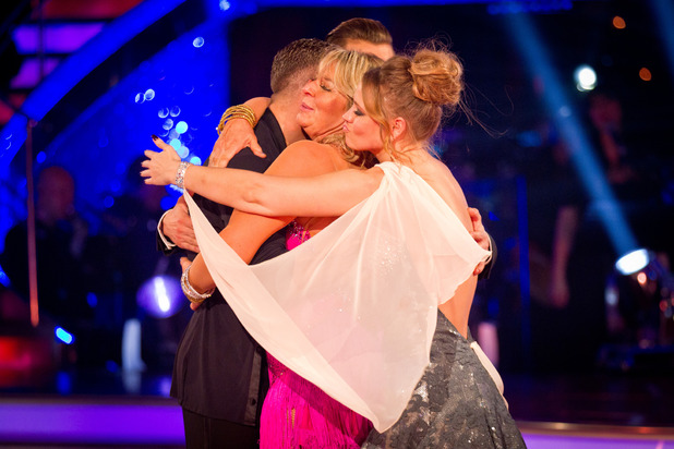 Fern Britton leaves Strictly Come Dancing, 11/11