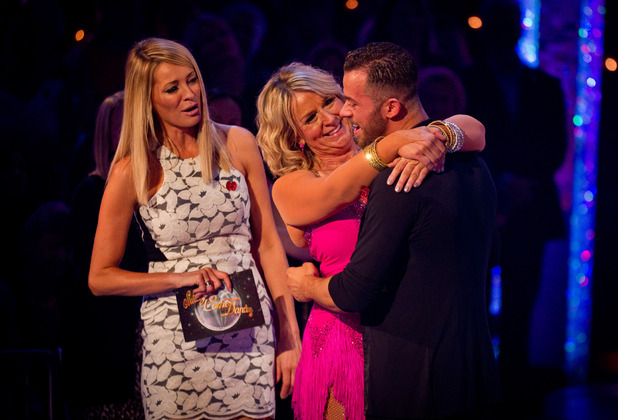Embargoed 11 Nov, 8pm: Fern Britton is eliminated from Strictly Come Dancing, 11/11