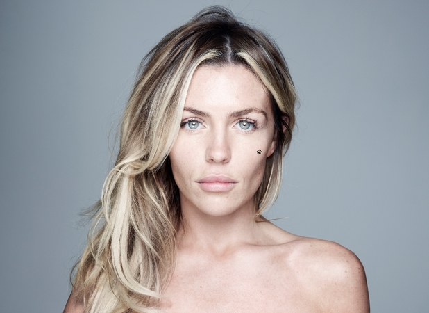 Abbey Clancy goes BareFaced for Children in Need 2012