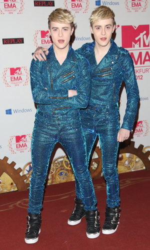 Jedward The MTV EMA's 2012 held at Festhalle - Arrivals Frankfurt, Germany - 11.11.12Mandatory Credit: Lia Toby/WENN.com