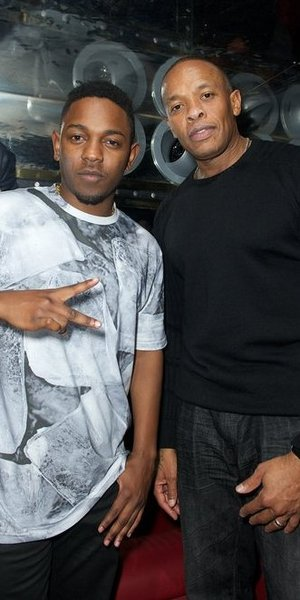 Dr Dre and Kendrick Lamar at Solo Beats by Dre launch, Rose Club, 09.11.12