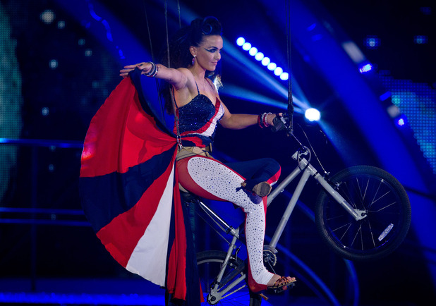 Victoria Pendleton at Strictly Wembley