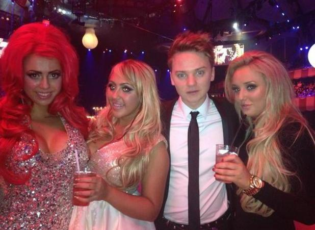 Geordie Shore at MTV EMAs with Conor Maynard