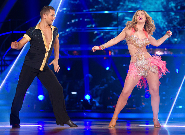 Strictly Come Dancing at Wembley: Kimberley and Pasha.