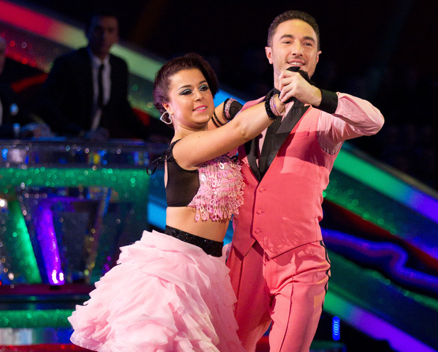 Strictly Come Dancing at Wembley: Dani and Vincent.
