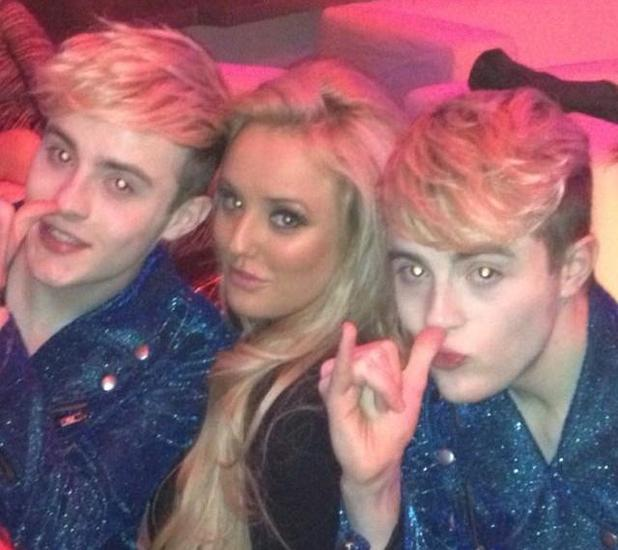 Geordie Shore at MTV EMAs with Jedward