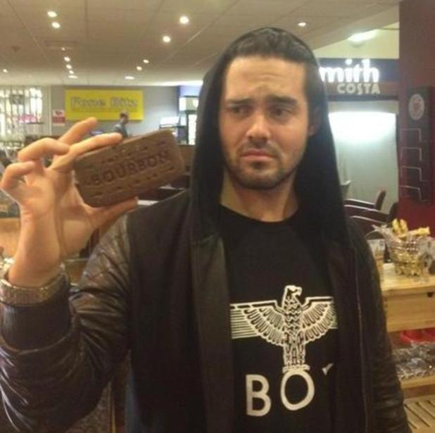 Made In Chelsea's Spencer Matthews poses with giant ...