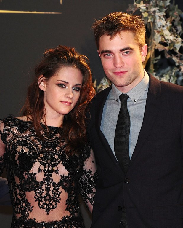 Kristen Stewart and Robert Pattinson arriving for the premiere of The Twilight Saga: Breaking Dawn Part 2 at the Empire and Odeon Leicester Square, London