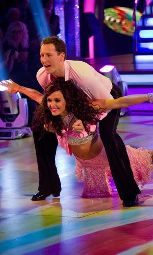 Victoria Pendleton, Brendan Cole, Strictly Come Dancing