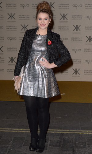 Miss Mode: Ella Henderson in Topshop dress at Kardashian Kollection for Dorothy Perkins launch