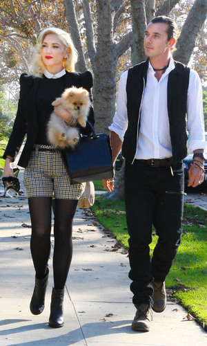Miss Mode: Gwen Stefani and Gavin Rossdale arrive at her parents for ThanksgivingWhere: United States When: 22 Nov 2012 Credit: WENN.com**Available for publication in the UK only**