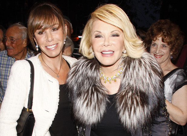 Melissa Rivers and Joan RiversJoan Rivers promotes the WE television show 'Joan and Melissa: Joan Knows Best?' with a hand print ceremony at Theatre 80 on St. Mark's Place.New York City, USA - 03.09.11 Mandatory Credit: Joseph Marzullo/Wenn.com