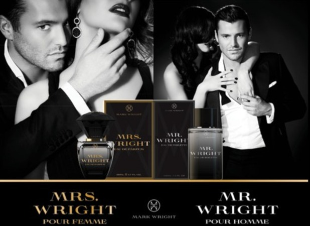 Mark Wright fragrance - Mr Wright and Mrs Wright