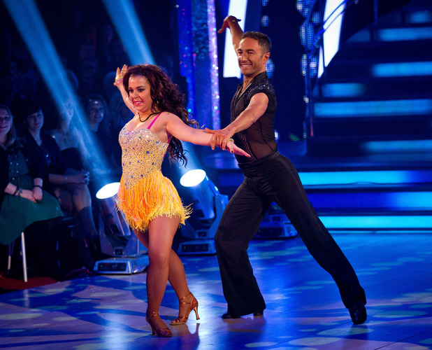 Dani Harmer and Vincent Simone, Strictly Come Dancing