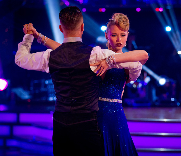 Kimberley Walsh, Pasha on Strictly Come Dancing