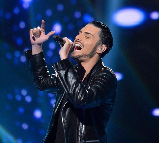 The X Factor Live Results Show' TV Programme, London, Britain - 25 Nov 2012 Subhead: Rylan Clark Supplementary info: Categories: Byline: Ken McKay/Thames/Rex Features
