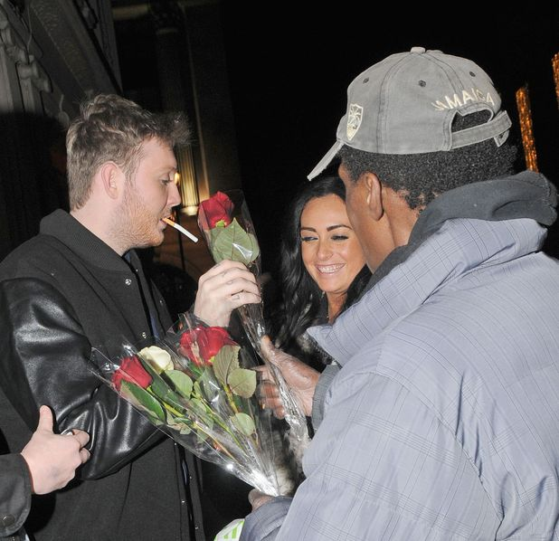 Celebrities at the Mahiki nightclub, London, Britain - 28 Nov 2012 Subhead: James Arthur Supplementary info: Categories: Music, Male, With Others, Personality Byline: Photofab/Rex Features