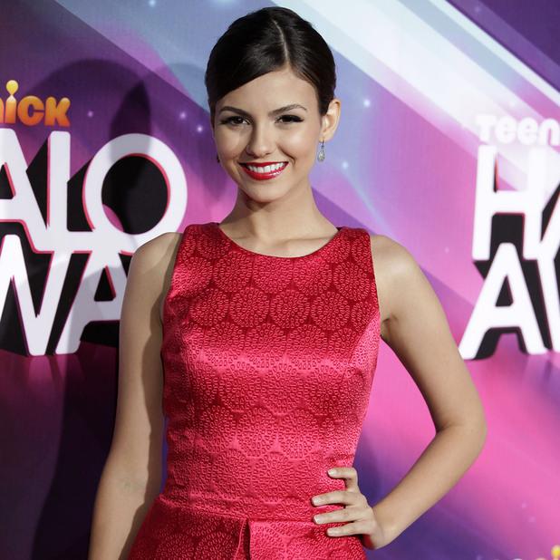 Victoria Justice Nickelodeon's 2012 TeenNick HALO Awards, held at the Hollywood Palladium - Arrivals Hollywood, California - 17.11.12 Mandatory Credit: Brian To/WENN.com