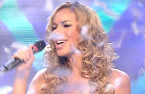 Leona Lewis performs winners single on The X Factor