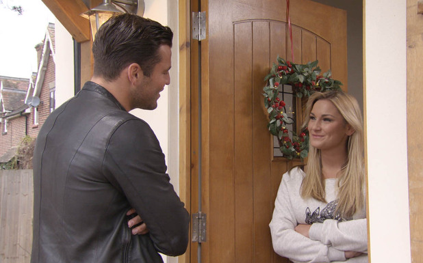 Mark Wright and Sam Faiers on TOWIE Christmas special