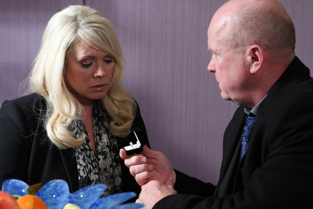 Phil proposes to Sharon, EastEnders, Tue 1 Jan