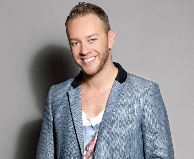 Dancing On Ice professional skater, Daniel Whiston