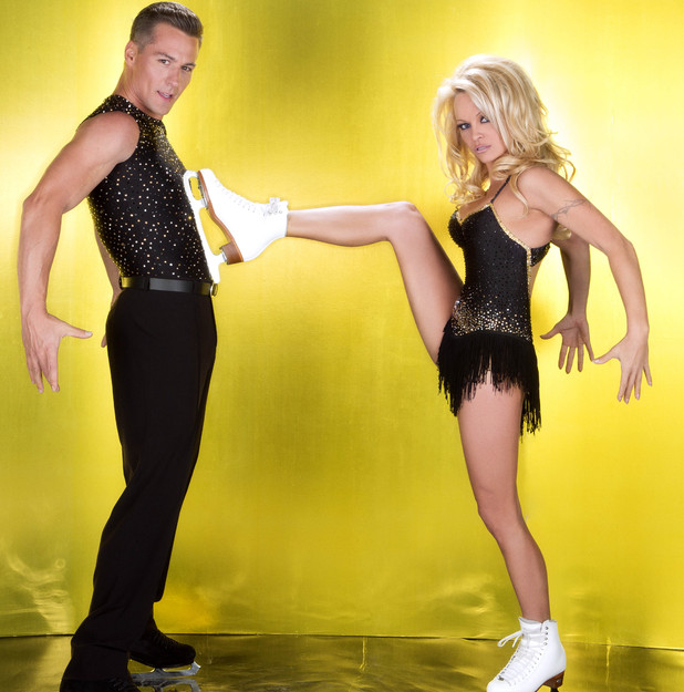 Pamela Anderson, Matt Evers, Dancing On Ice