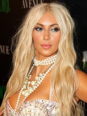Kim Kardashian dressed as a mermaid attends the Midori Halloween party New York City, USA - 27.10.12 Credit: (Mandatory): Alberto Reyes/WENN.com