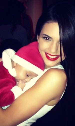 Miss Mode: Kendall Jenner at Christmas