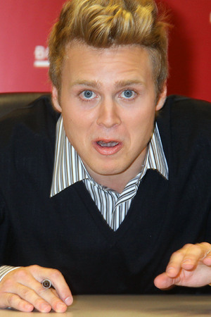 Spencer Pratt at Borders signing his new book 'How to be Famous'. Heidi and Spencer, as your personal coaches, can transform anyone into a ubiquitous star that everyone loves to hate! New York City, USA - 16.11.09 Mandatory Credit: Michael Carpenter/ WENN.com