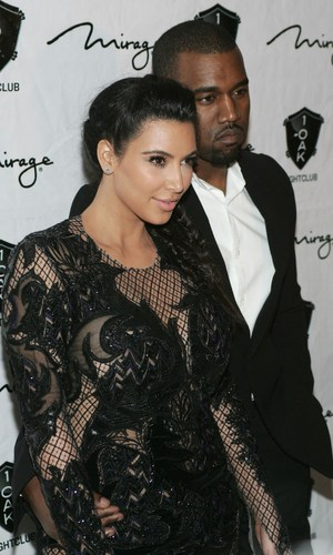 Kim Kardashian and Kanye West celebrate New Year's Eve in Las Vegas