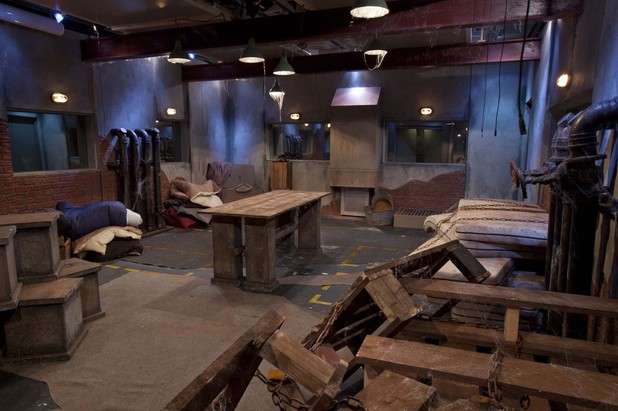 Celebrity Big Brother basement slum