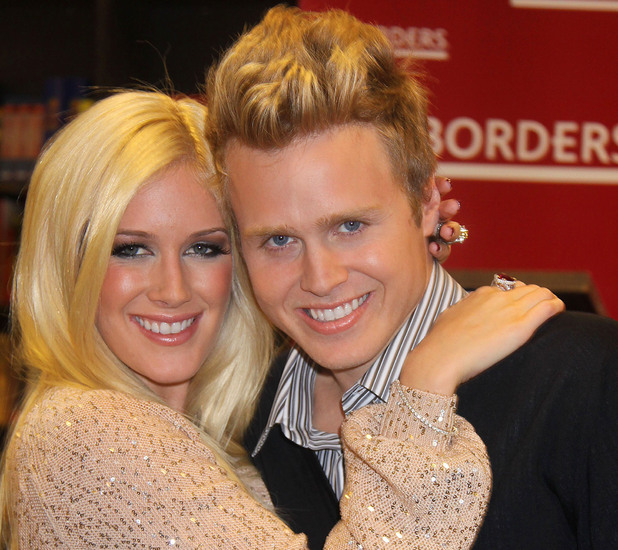Heidi Montag & Spencer Pratt at Borders signing their new book 'How to be Famous'. Heidi and Spencer, as your personal coaches, can transform anyone into a ubiquitous star that everyone loves to hate! New York City, USA  - 16.11.09 Mandatory Credit: Michael Carpenter/ WENN.com
