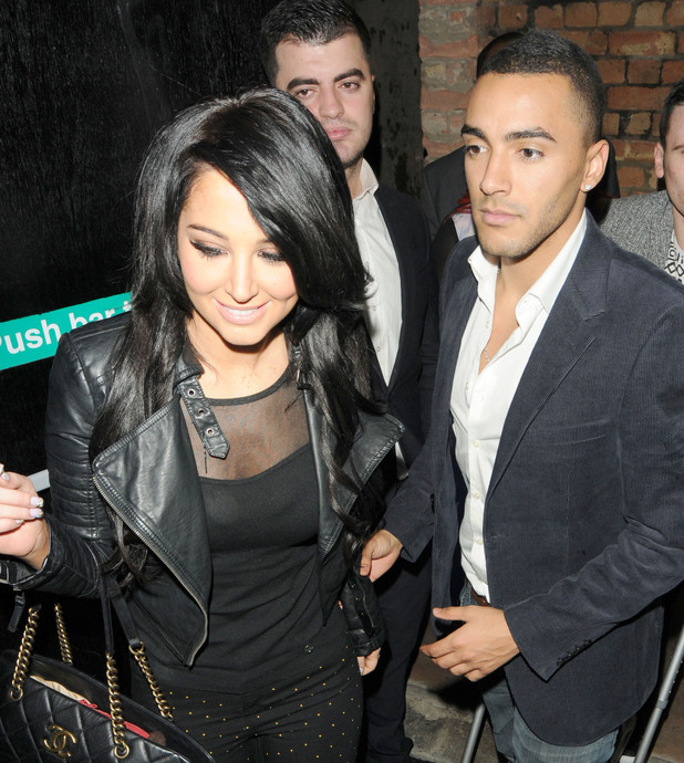 Tulisa and boyfriend Danny Simpson get matching 'his and hers' tattoos