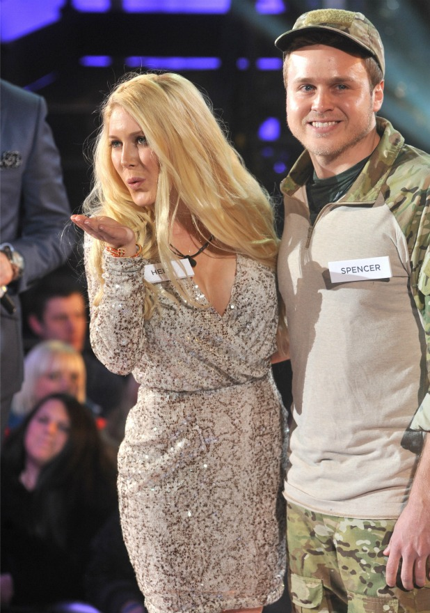 Heidi Montag and Spencer Pratt, Celebrity Big Brother 2013 Launch held at Elstree Studios, 2013