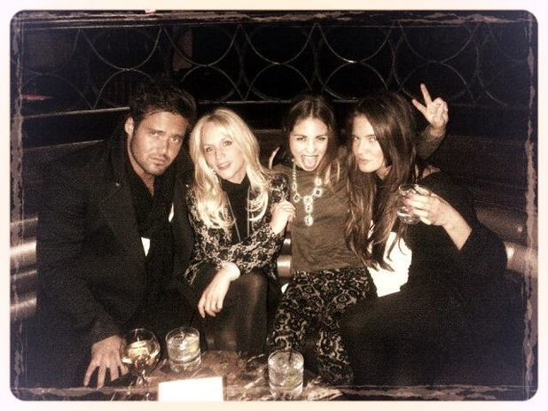 Stacey Jackson and Made In Chelsea's Louise Thompson, Binky Felstead, Spencer Matthews in New York