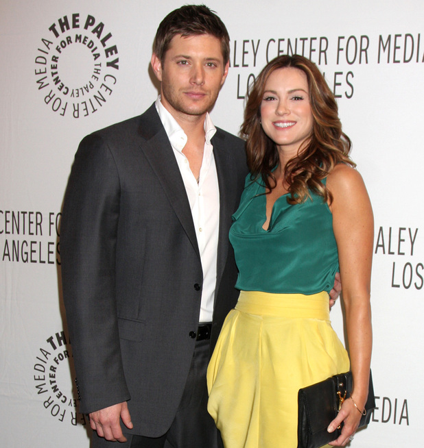 Supernatural S Jensen Ackles And Wife Danneel Harris