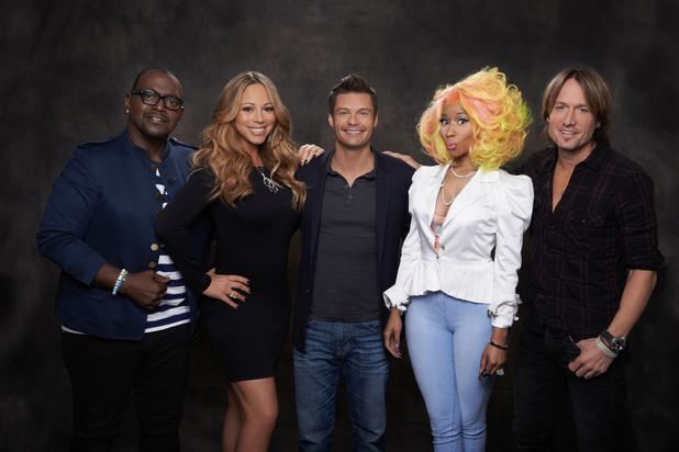 American Idol, Mariah Carey, Nicki Minaj, Keith Urban, Randy Jackson, Ryan Seacrest, 5*, Thu 17 Jan