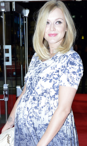 Fearne Cotton arrives to attend the gala screening of 'Crossfire Hurricane, Odeon Leicester Square, London. Picture date: Thursday October 18, 2012. Photo credit should read: Jonathan Brady/PA Wire