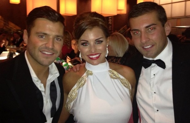 Mark Wright, Jessica Wright, James 'Arg' Argent at NTAs