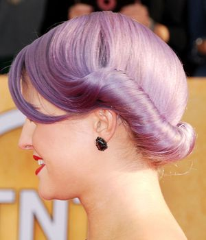 Kelly Osbourne at the 19th Annual Screen Actors Guild (SAG) Awards held at the Shrine Auditorium - Arrivals Los Angeles, California, United States, 27 Jan 2013