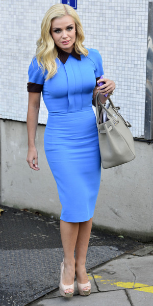 Miss Mode: Katherine Jenkins at ITV