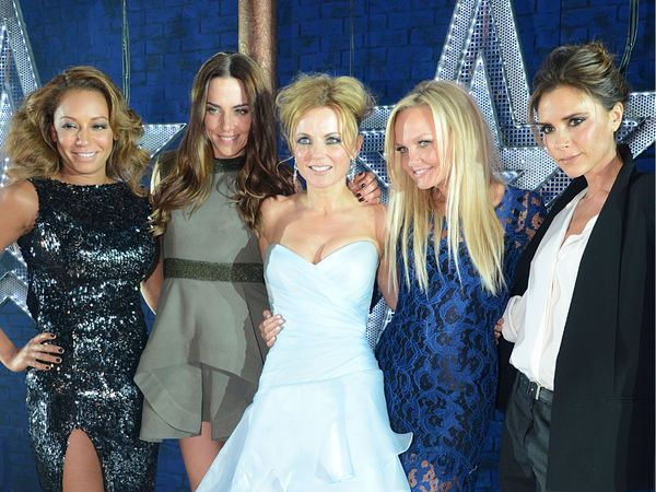 Spice Girls at Viva Forever premier