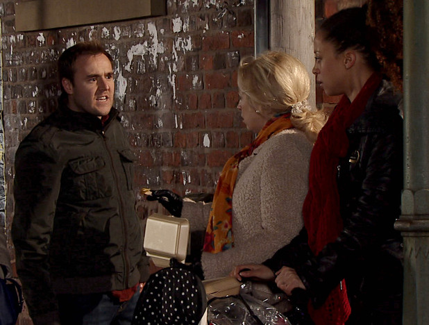 Corrie, Tyrone confronts Kirsty, Fri 1 Feb