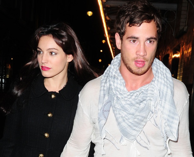 Kelly Brook and Danny Cipriani leaving J Sheekey restaurant London, England - 13.11.09 Mandatory Credit: WENN.com
