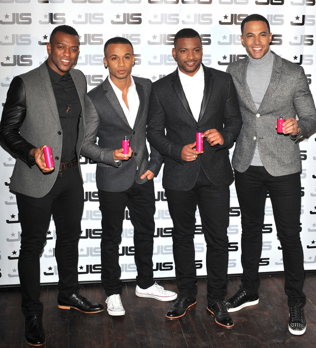 JLS fragrance launch held at One MayfairFeaturing: Aston Merrygold,Marvin Humes,JB Gill,Oritsé Williams Where: London, England, United Kingdom When: 31 Jan 2013 Credit: Daniel Deme/WENN.com