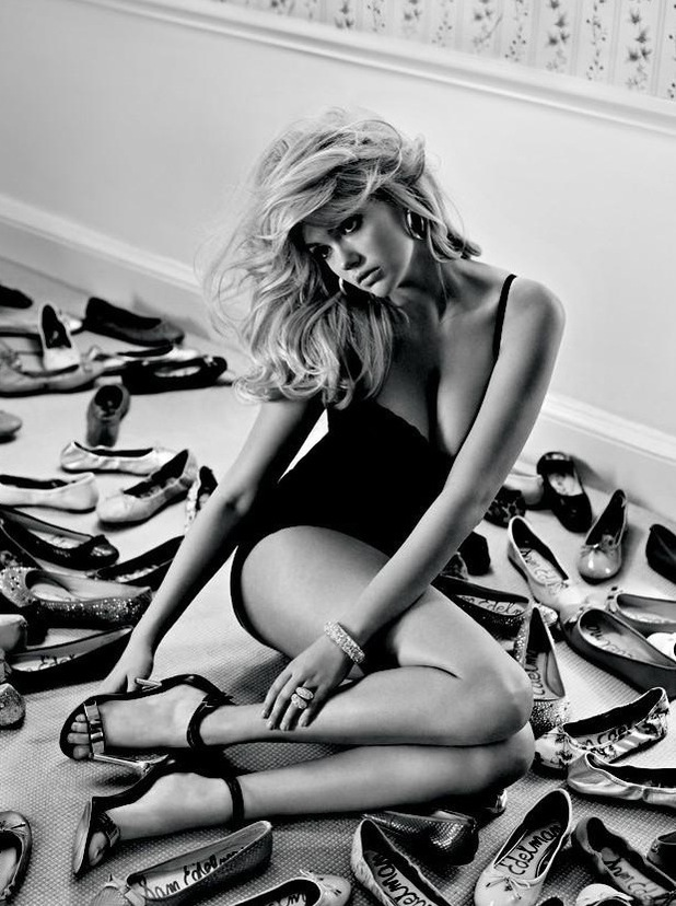 Kate Upton for sam edelman shoes
