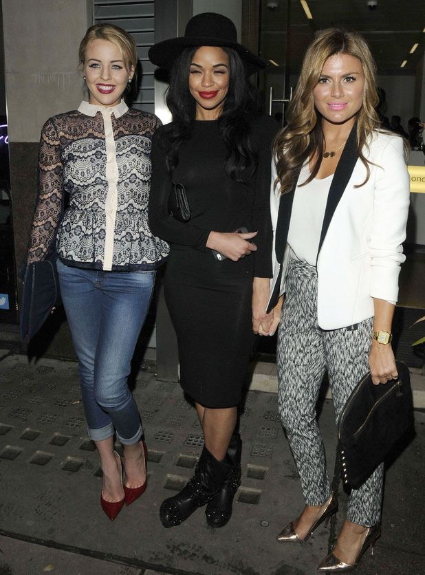 Lydia Rose Bright, Sarah-Jane Crawford and Zoe Hardman