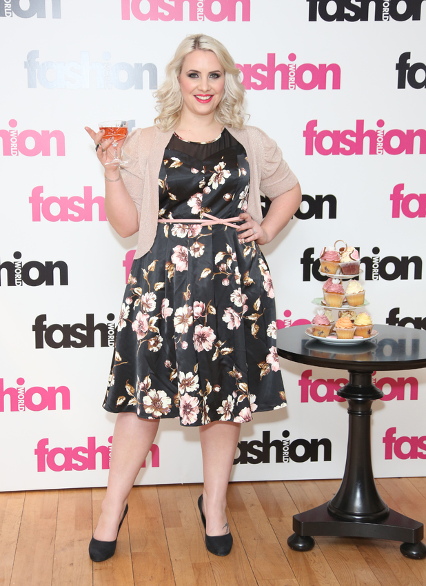 Fashion World, the 'size and fit' womenswear brand ambassador announcement held at BB Bakery Featuring: Claire Richards Where: London, United Kingdom