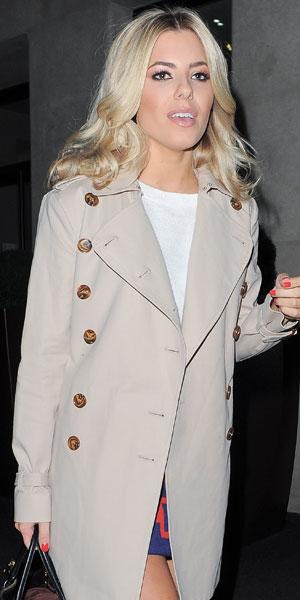 Mollie King at the Mayfair Hotel